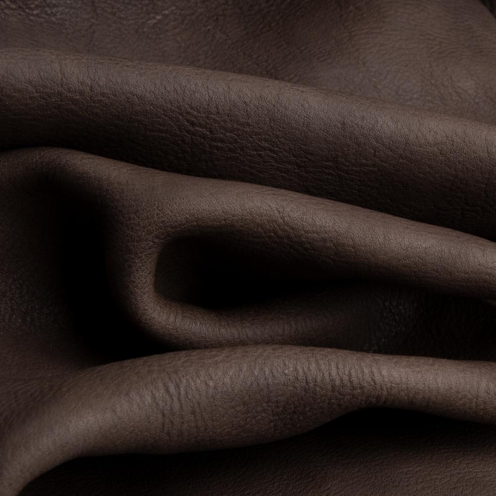 art. in pelle Elbamatt lavato colore piombo